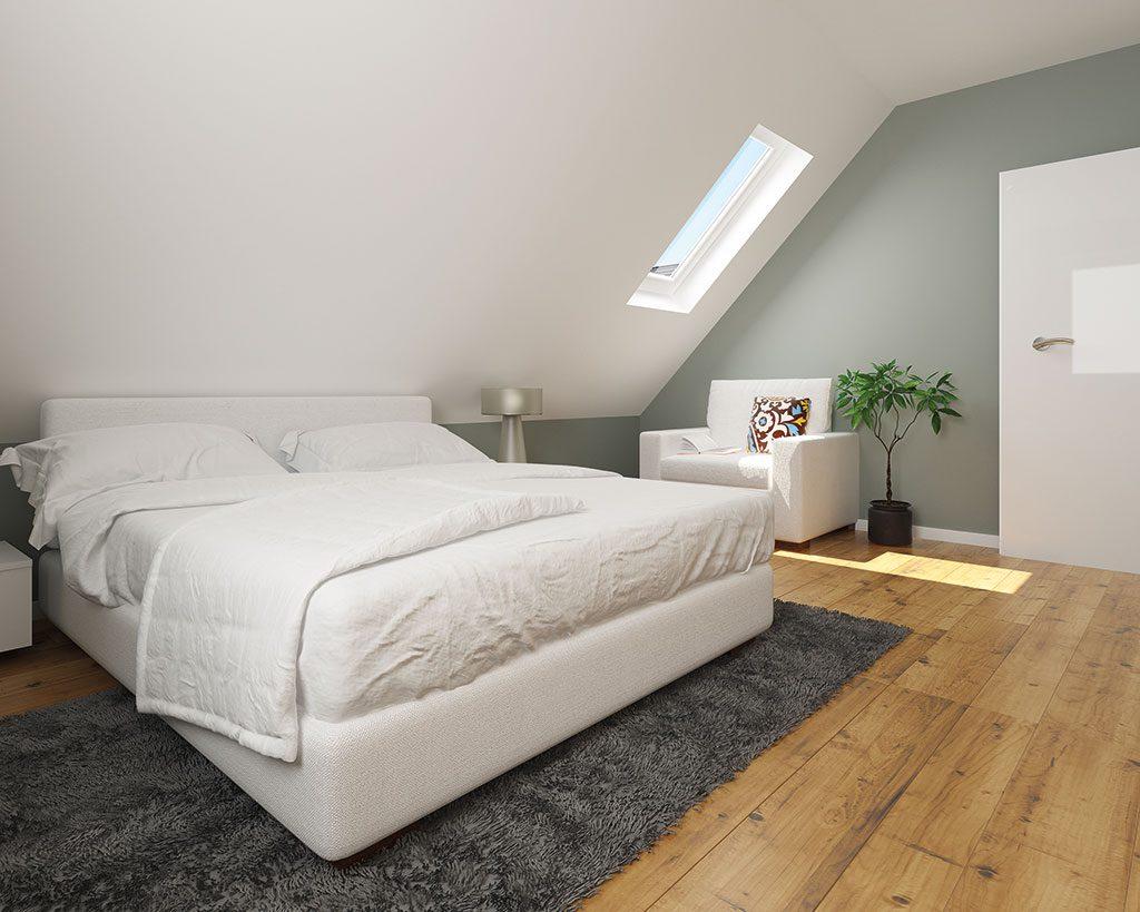 Innenaufnahme EH 125 Schlafzimmer
