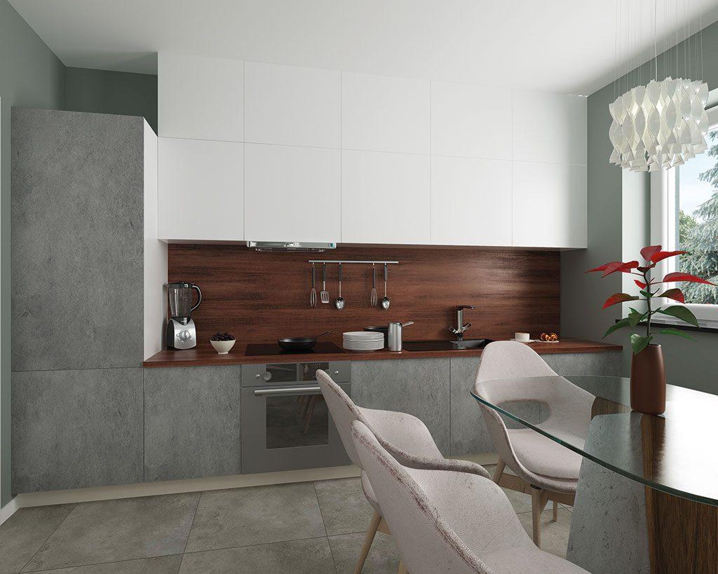 Innenaufnahme EH 125 Küche