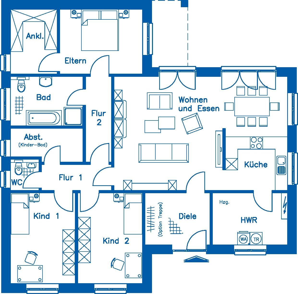Grundriss BL 135 Basis