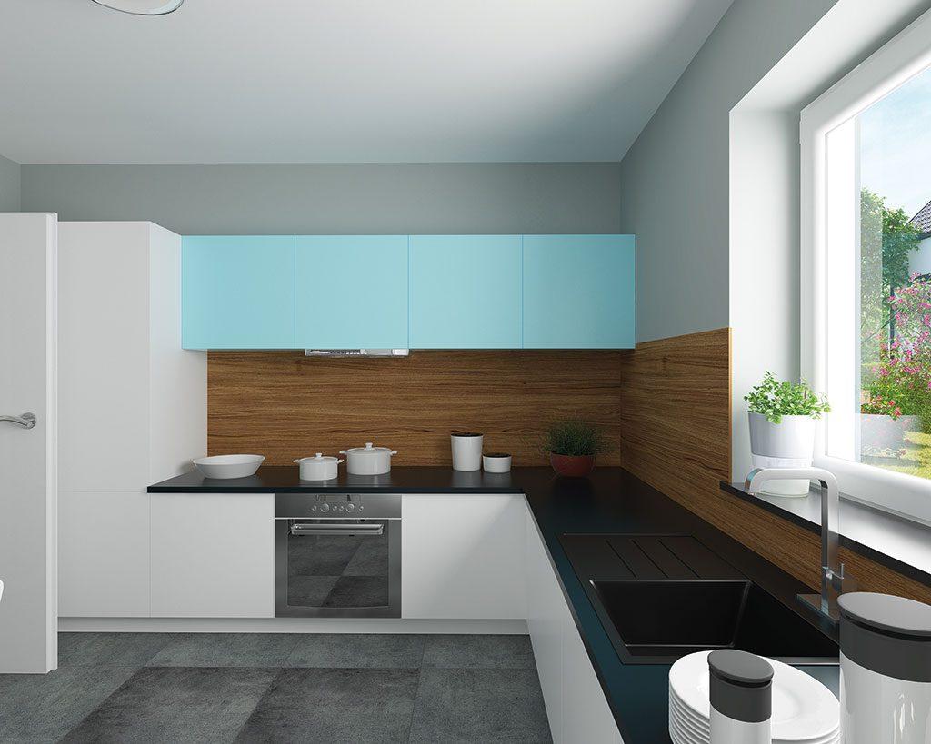 Innenaufnahme SV 140 Küche