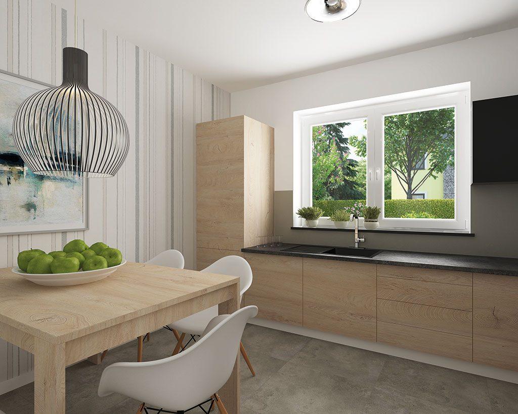 Innenaufnahme SV 155 Küche