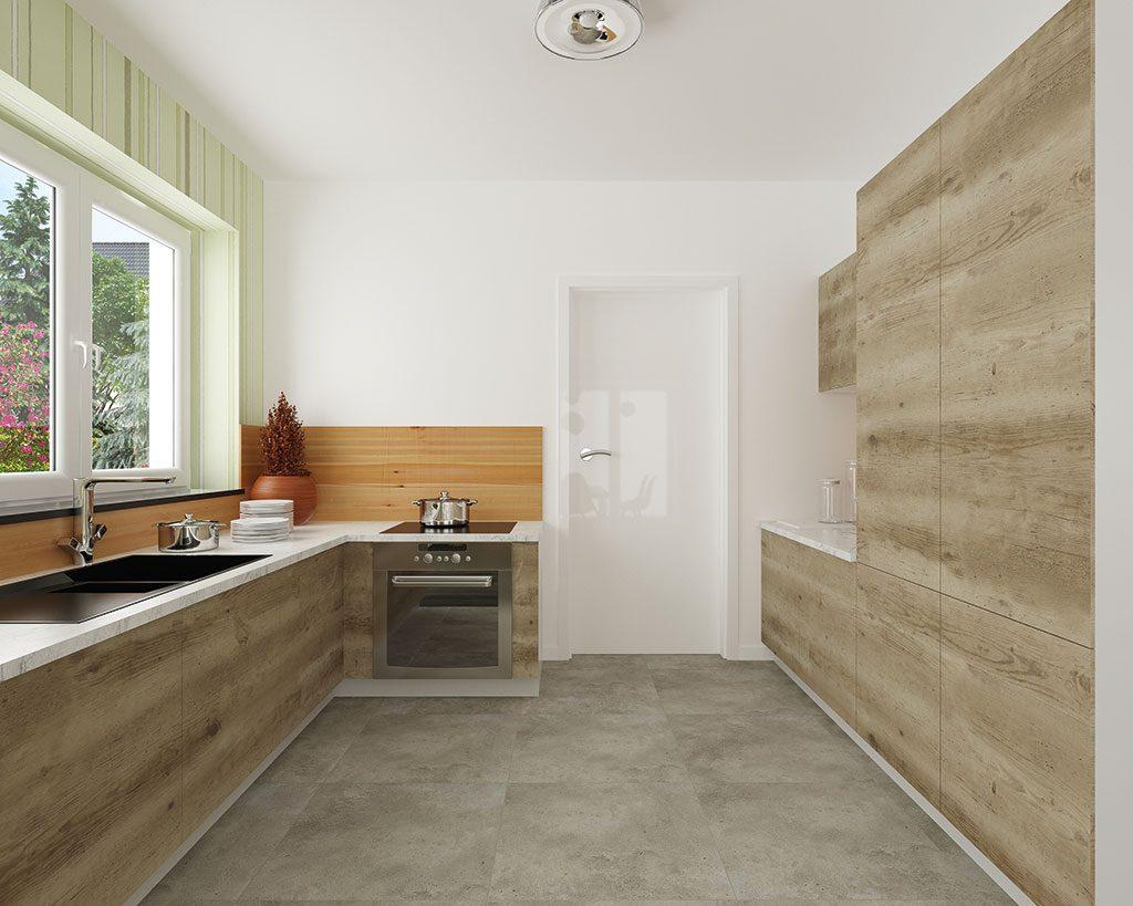 Innenaufnahme ZH 185 Küche