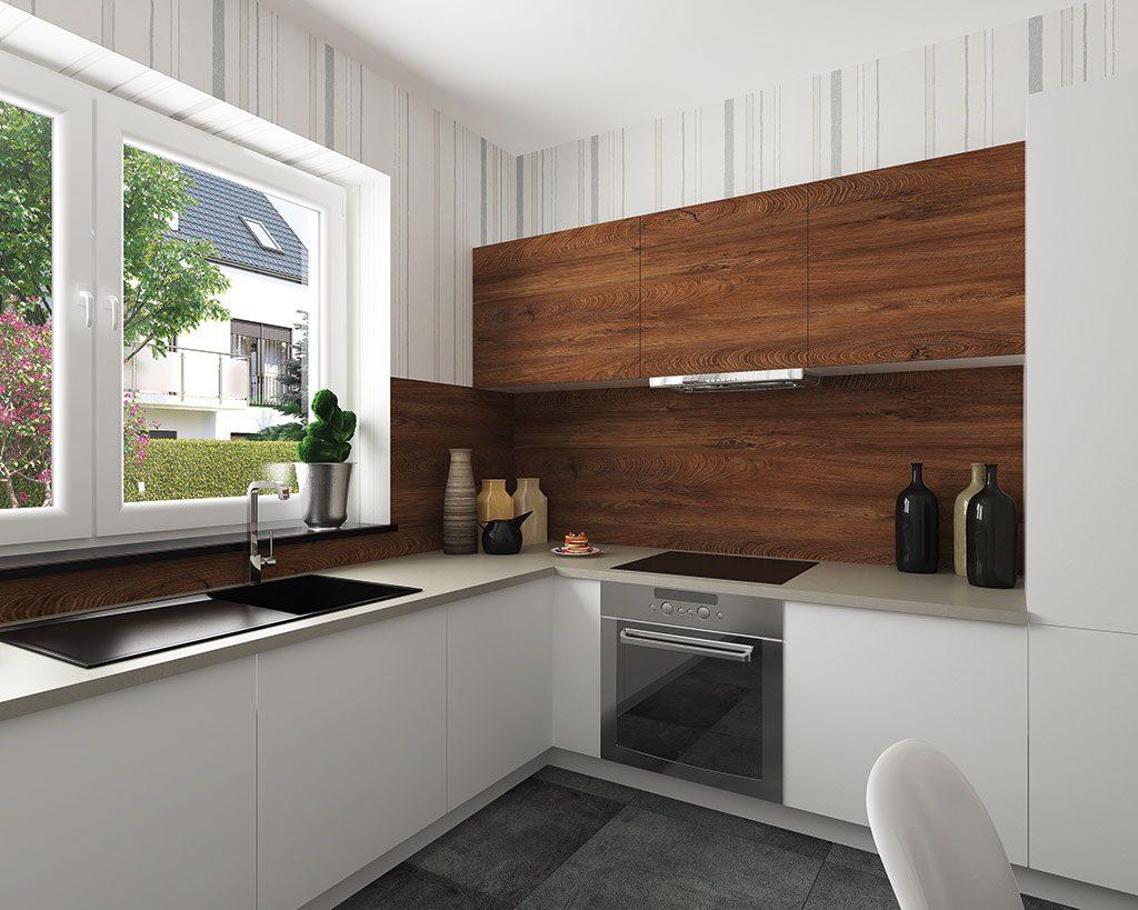Innenaufnahme ZH 210 Küche