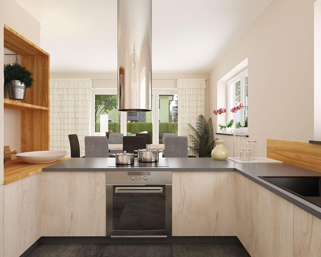 Innenaufnahme BL 135 Küche