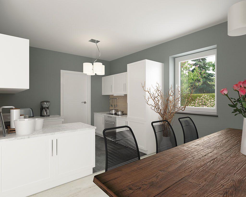Innenaufnahme DH 110 Küche
