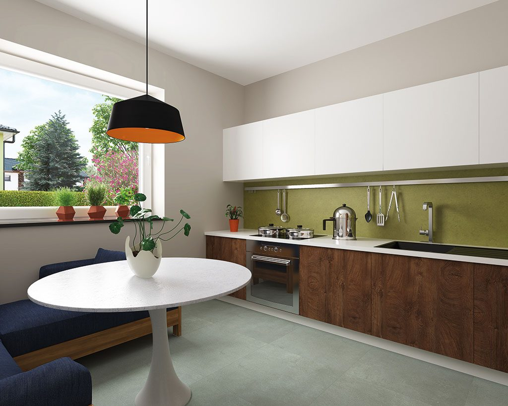 Innenaufnahme DH 120 Küche