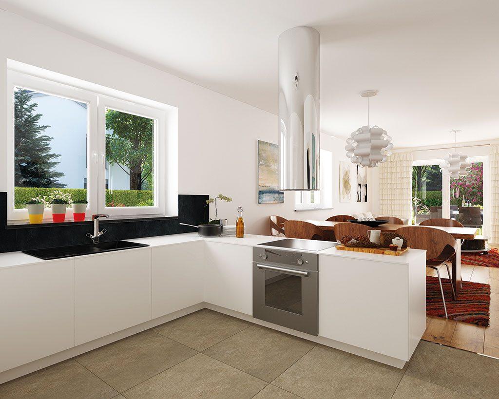 Innenaufnahme DH 130 Küche