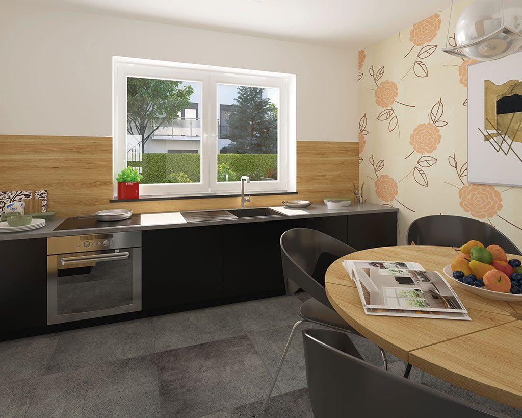Innenaufnahme EH 155 Küche