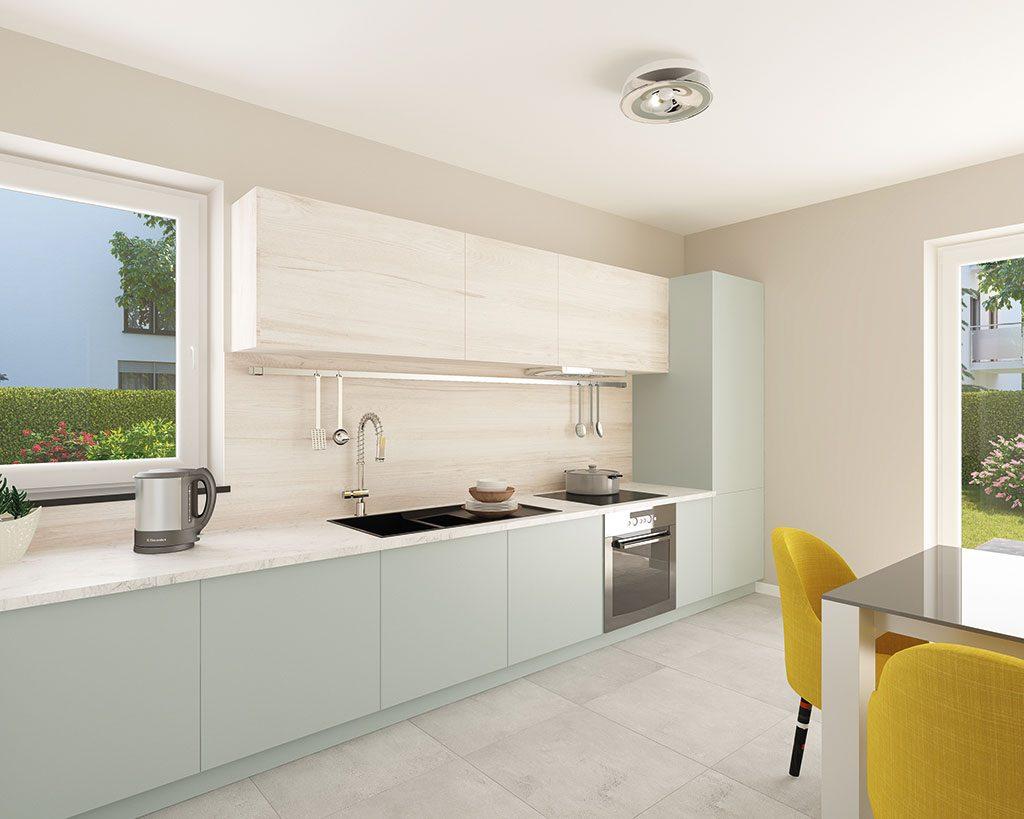 Innenaufnahme SV 125 Küche