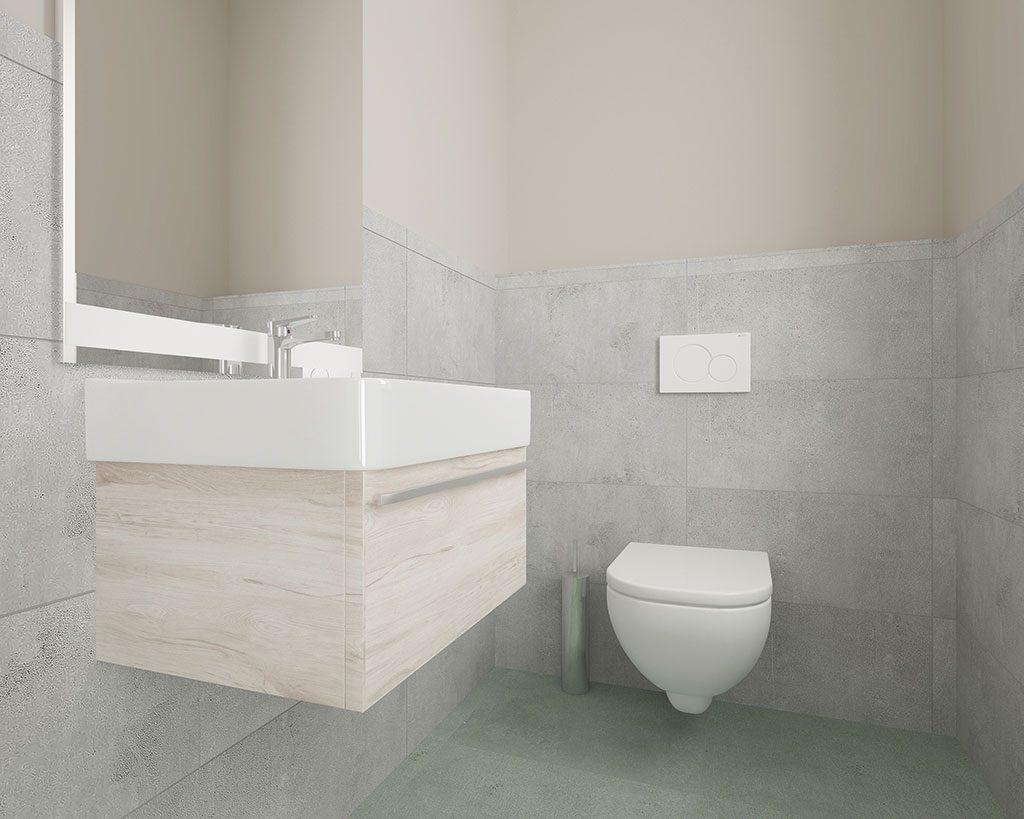 Innenaufnahme DH 120 WC