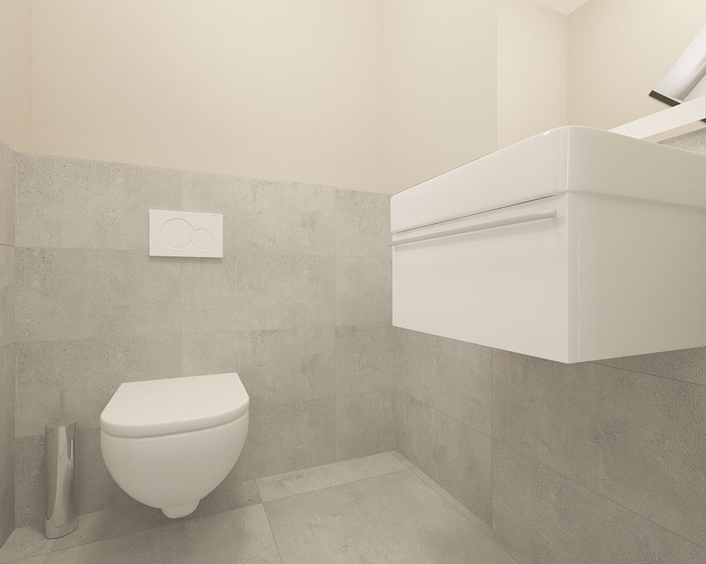Innenaufnahme SV 125 WC