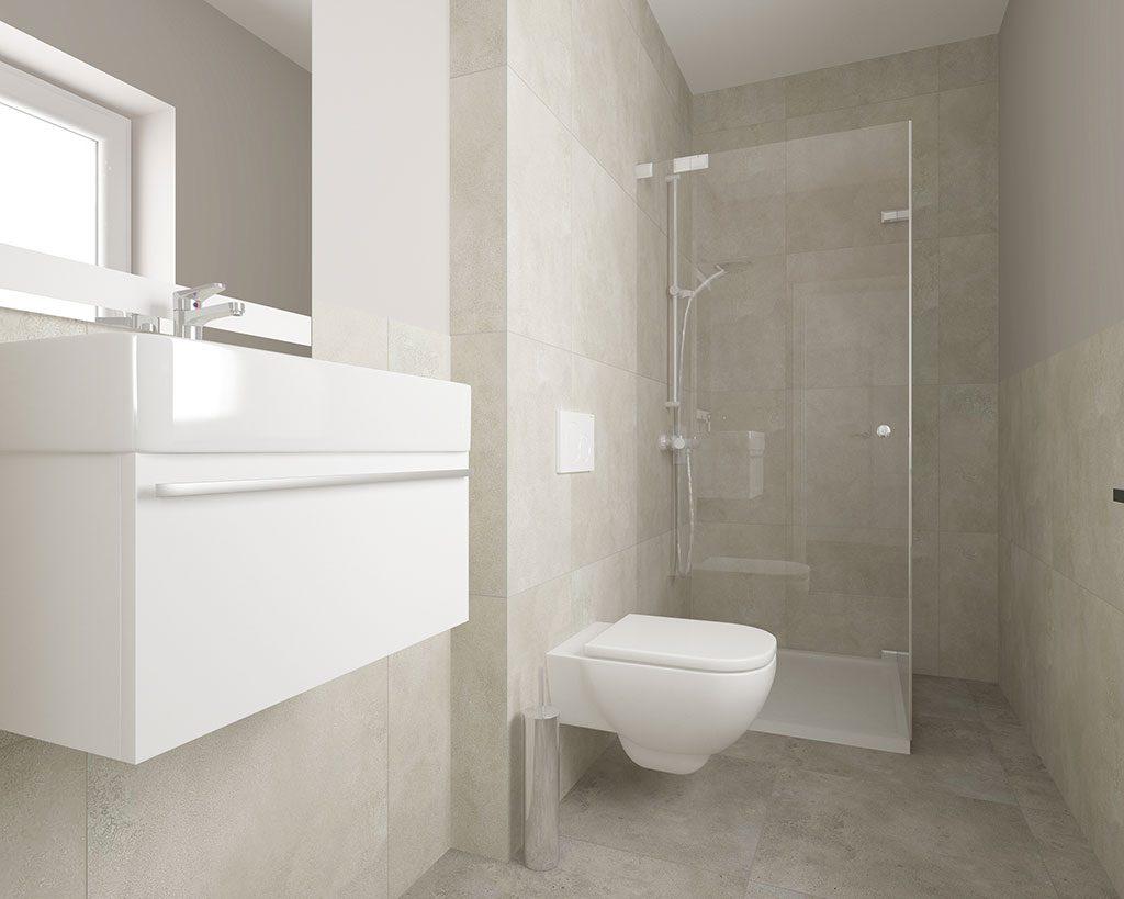 Innenaufnahme SV 155 WC-Dusche