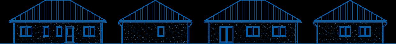 Abbildung Hausansichten BL 80 Basis