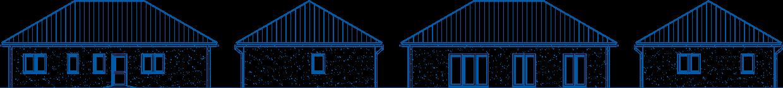 Abbildung Hausansichten BL 95 Basis