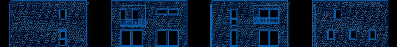 Abbildung Hausansichten SV 155 M