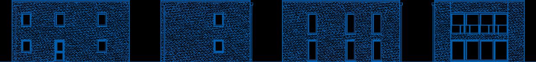 Abbildung Hausansichten ZH 185 T
