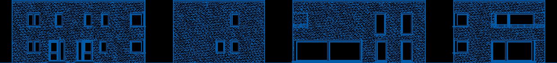 Abbildung Hausansichten ZH 200 T