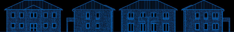 Abbildung Hausansichten ZH 210 M