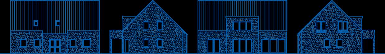 Abbildung Hausansichten ZH 210 T