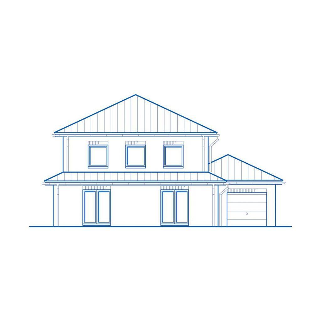 Haus im Bau PN2751