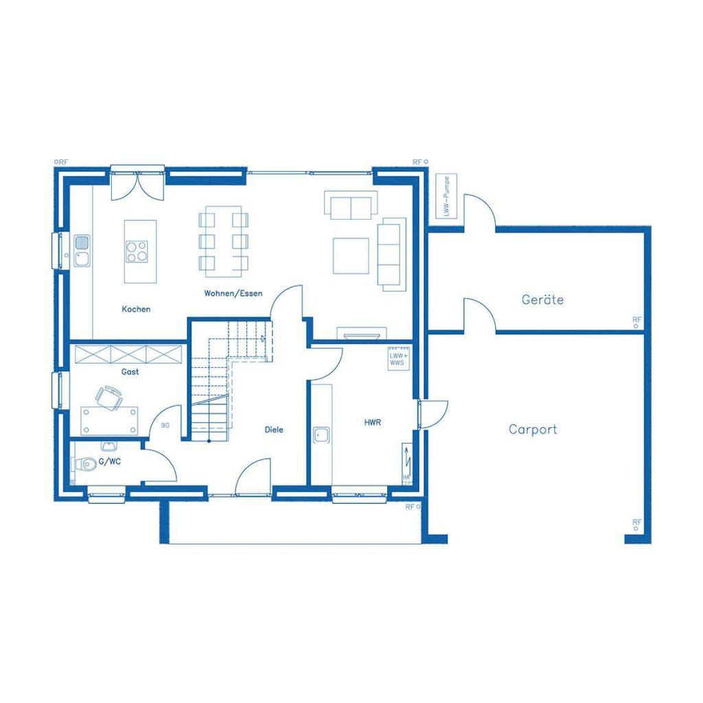 Haus im Bau PN2824