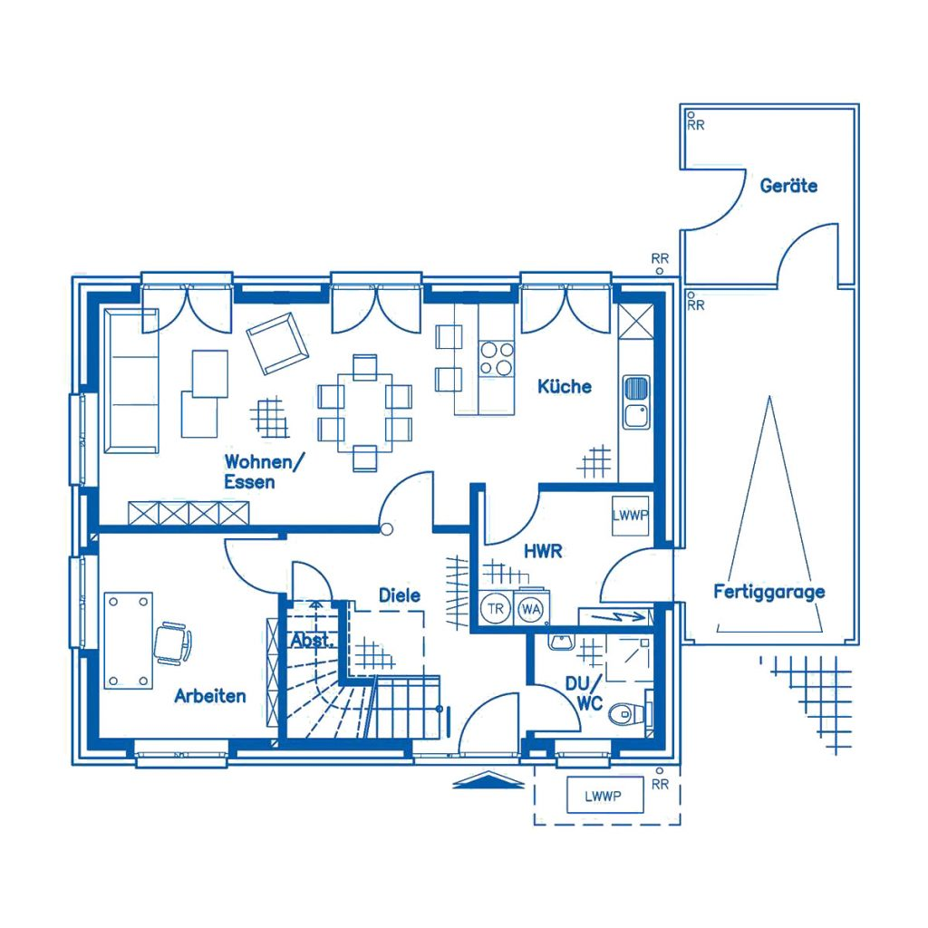 Haus im Bau PN2930