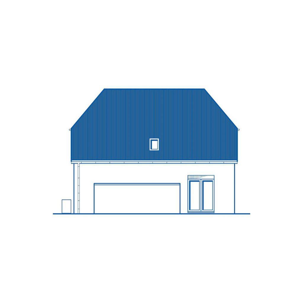 Haus im Bau PN2956