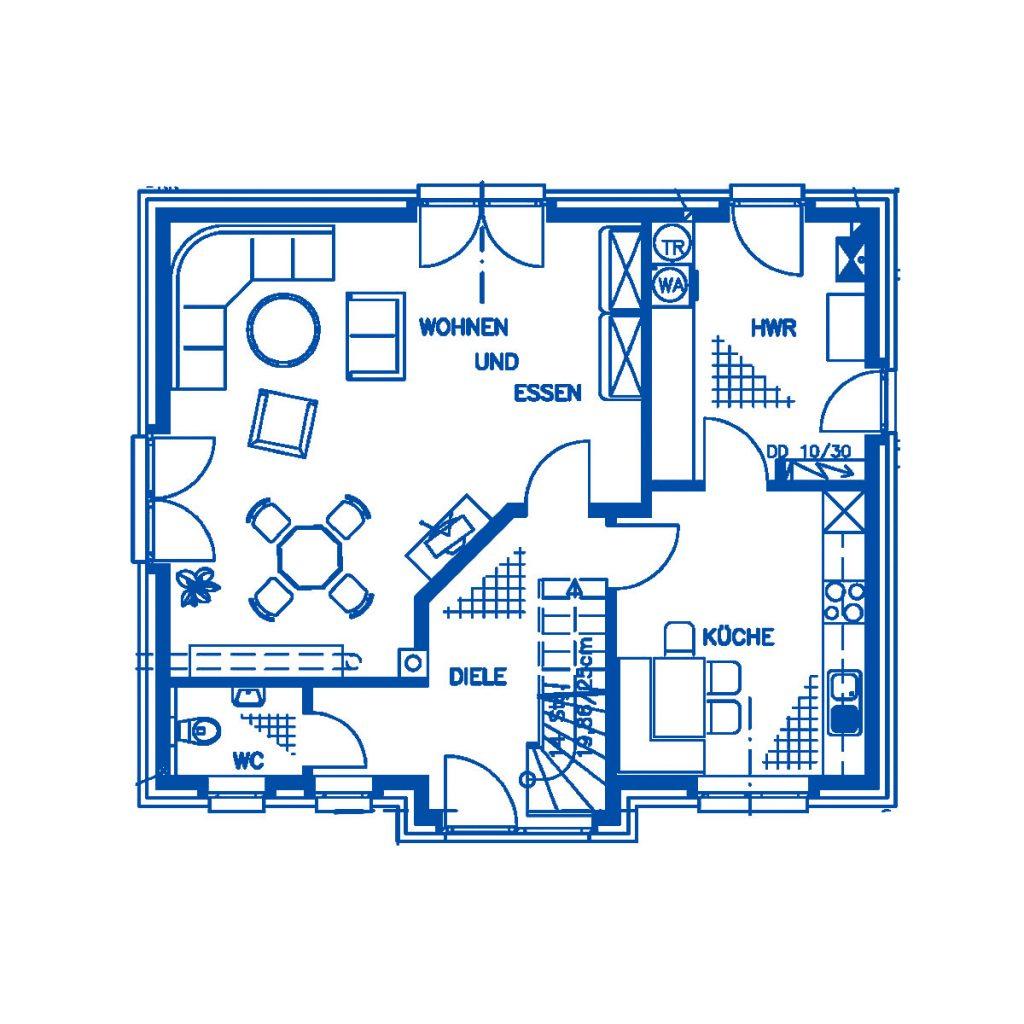 Haus im Bau PN956