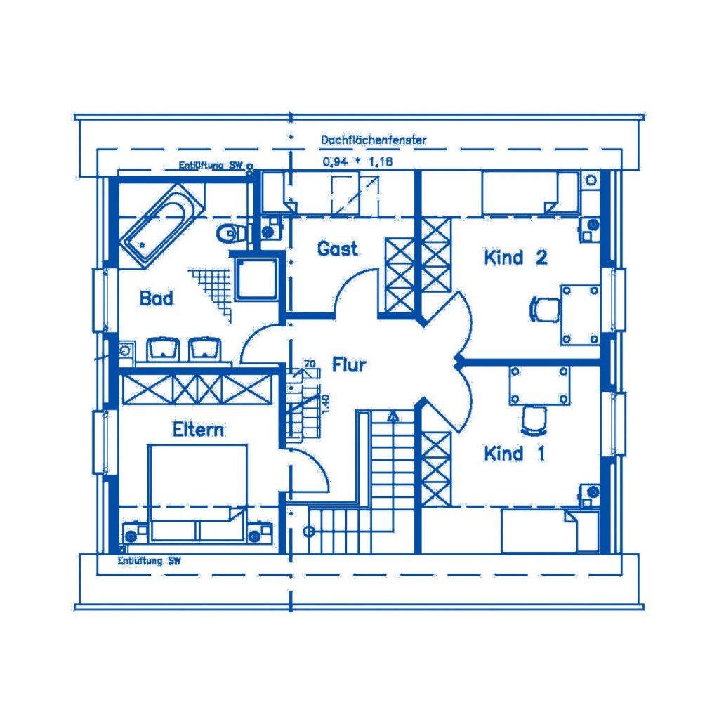 Haus im Bau PN1364