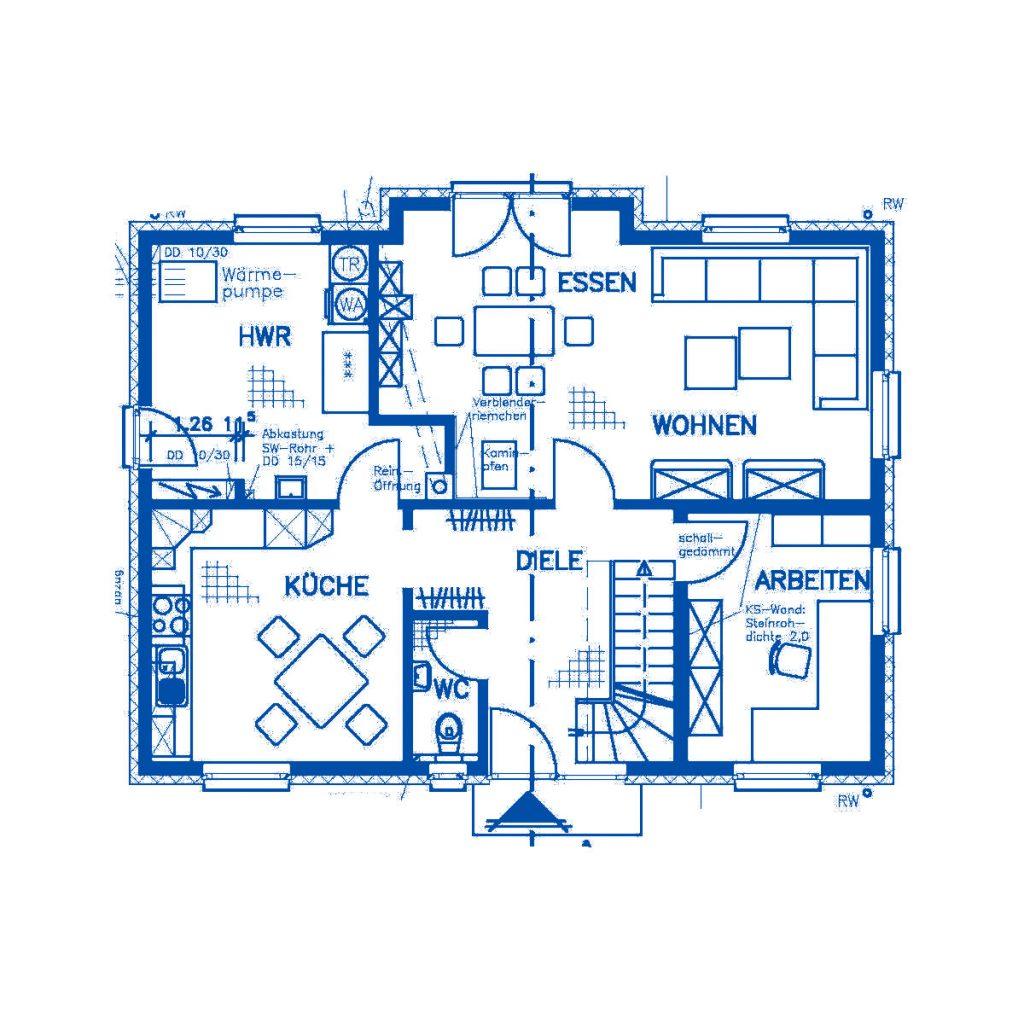 Haus im Bau PN1484