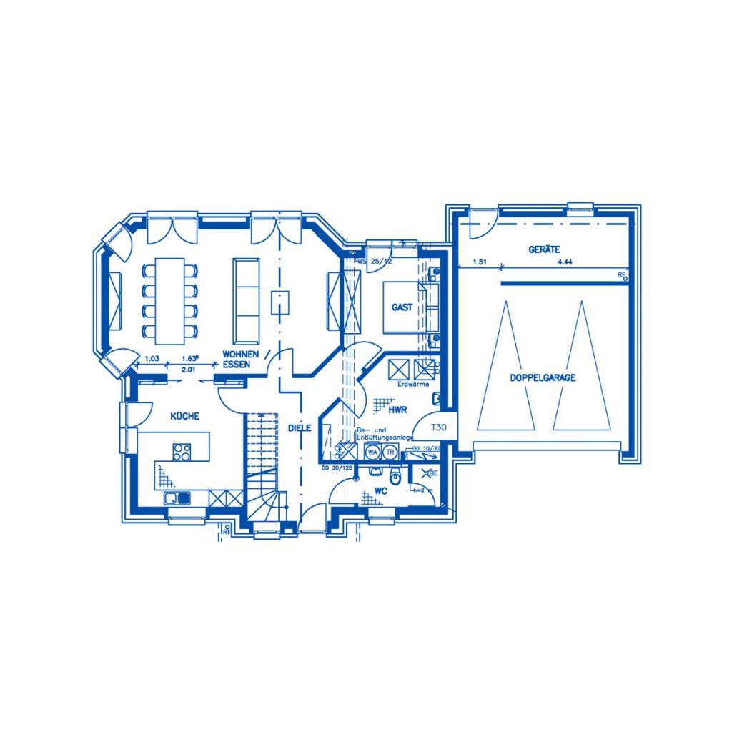 Haus im Bau PN1882