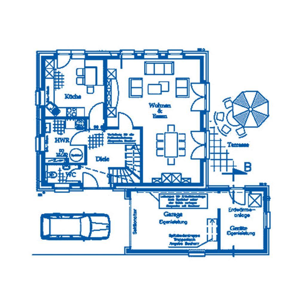 Haus im Bau PN1640