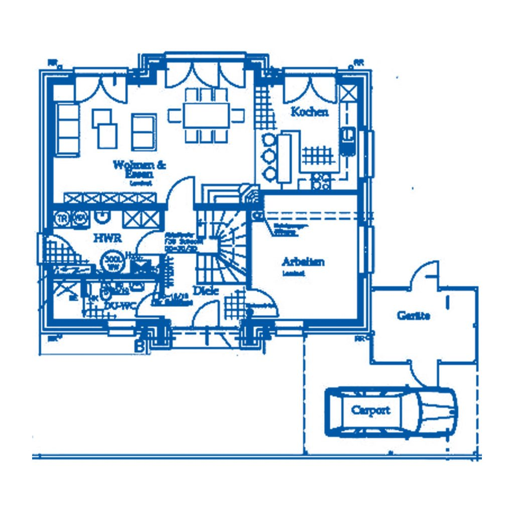 Haus im Bau PN1761
