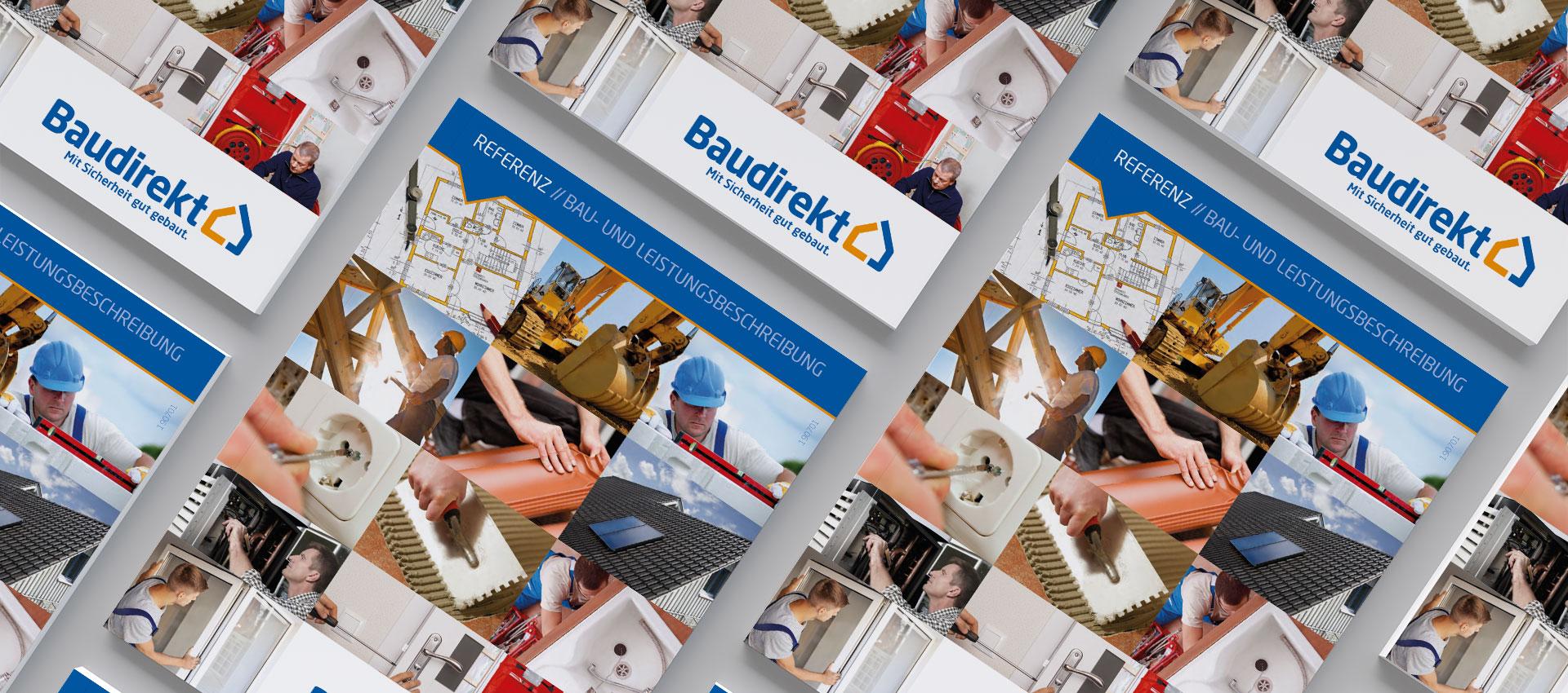 Abbildung Titel Bau- und Leistungsbeschreibung Broschüre