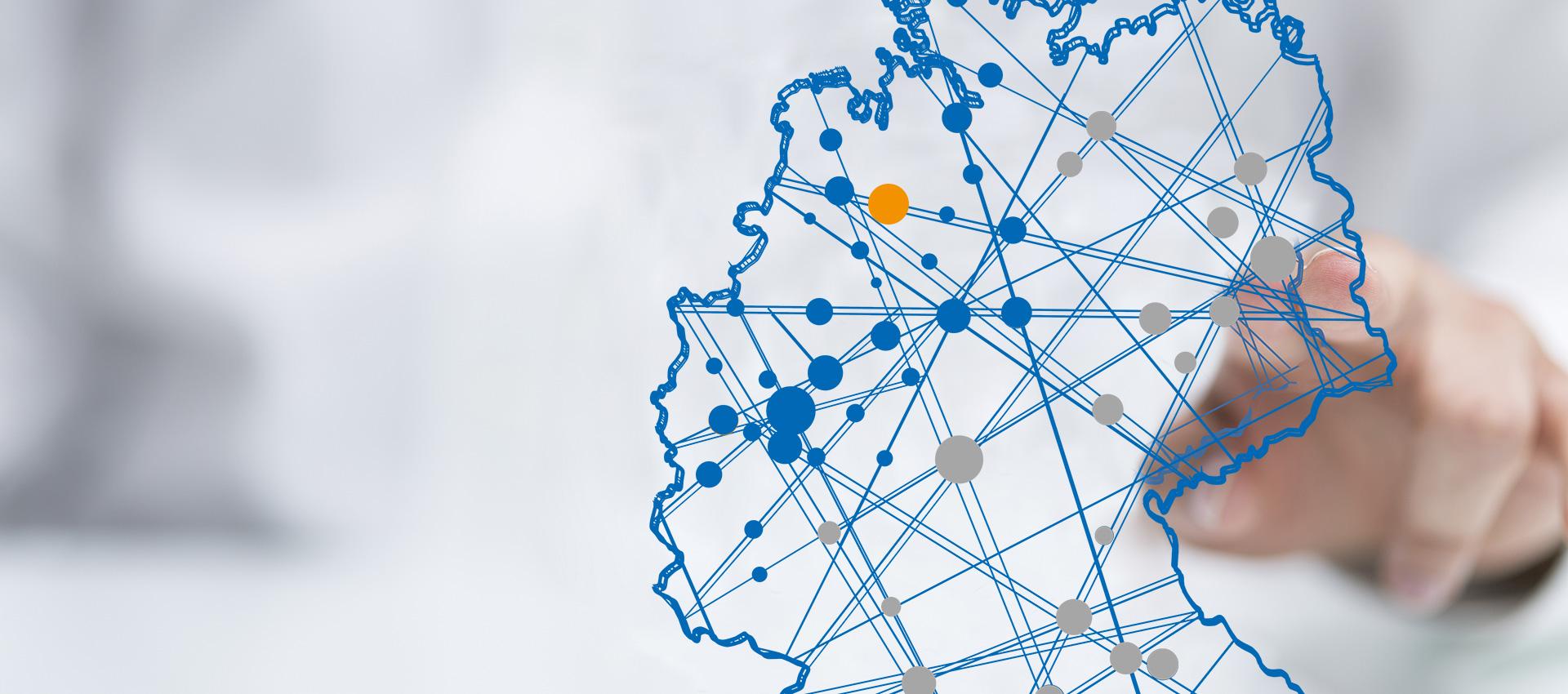 Abbildung Deutschlandkarte